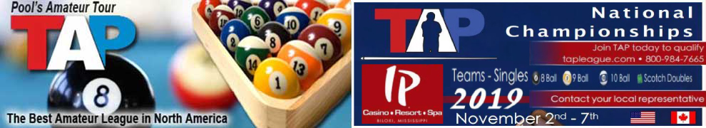 8-ball, 9-ball and 10-ball pool league in Las Vegas