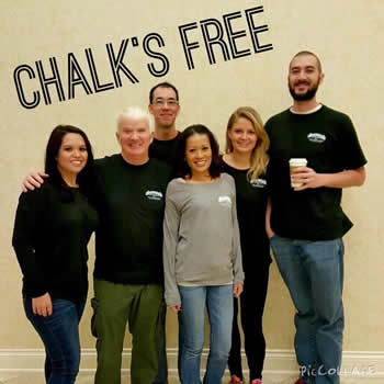 chalks free pool team