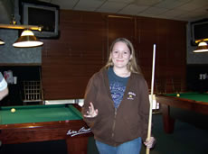jessica page wins 1st place in 9-ball tournament